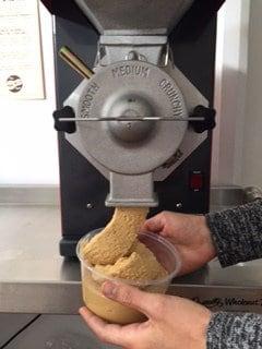 Freshly ground nut butter