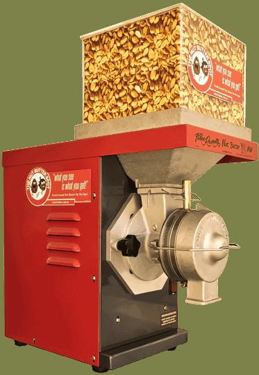 the vince russell original peanut butter mill