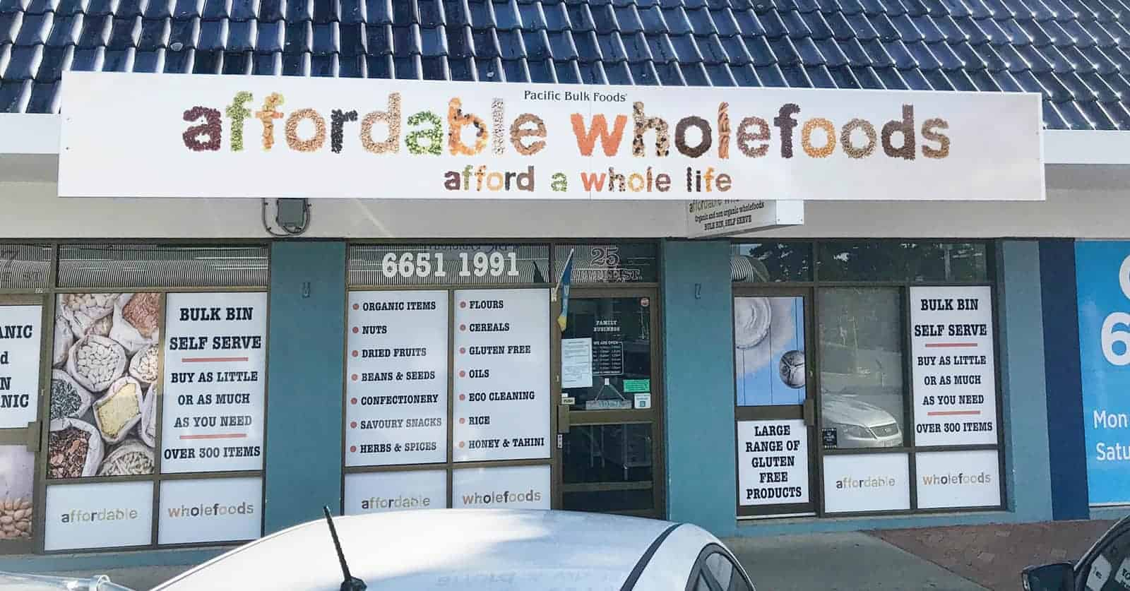 Affordable Wholefoods in Coffs Harbour